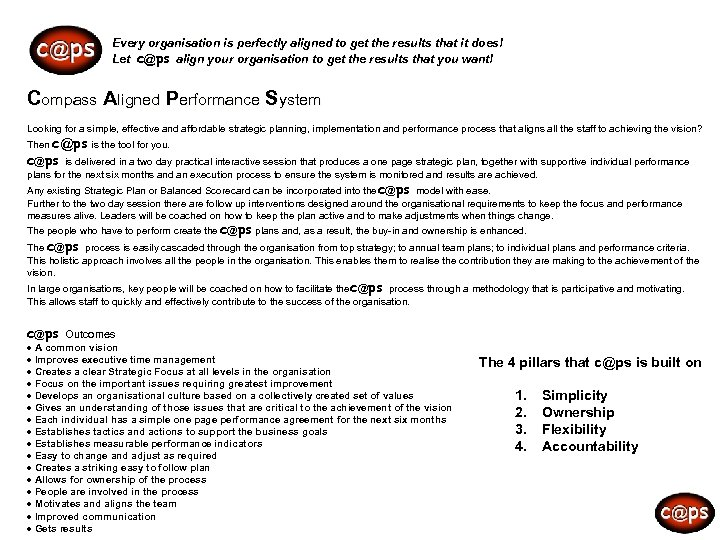 c@ps Every organisation is perfectly aligned to get the results that it does! Let