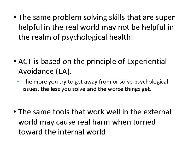 • The same problem solving skills that are super helpful in the real