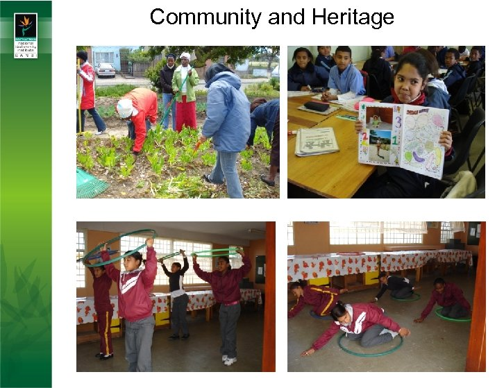 Community and Heritage