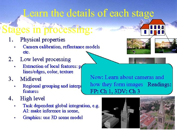Learn the details of each stage Stages in processing: 1. Physical properties • 2.