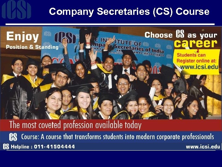 Company Secretaries (CS) Course