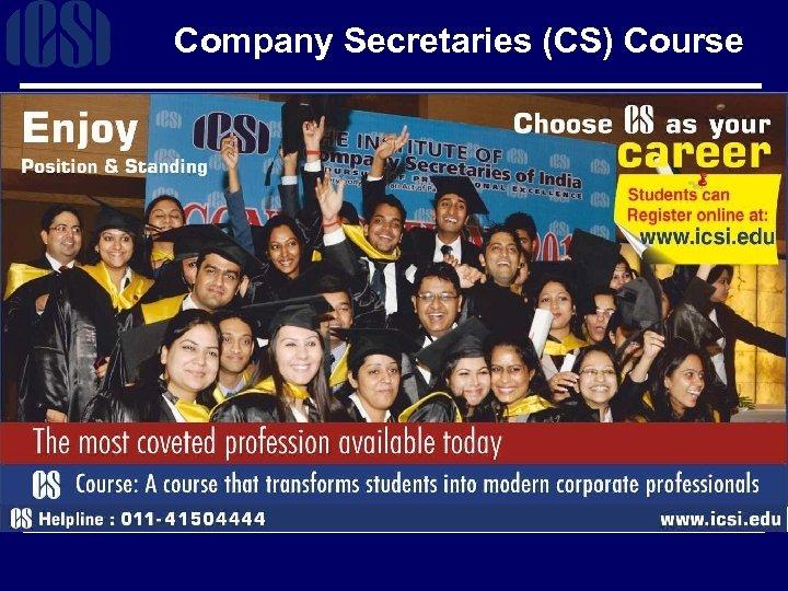 Company Secretaries (CS) Course