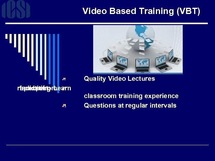 Video Based Training (VBT) Quality Video Lectures replicating Learn faculties expert from classroom training