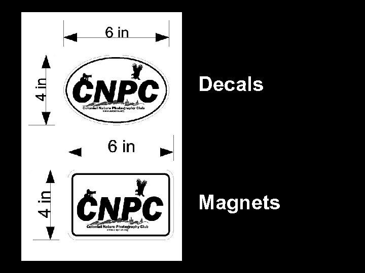 Decals Magnets