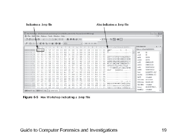 Guide to Computer Forensics and Investigations 19
