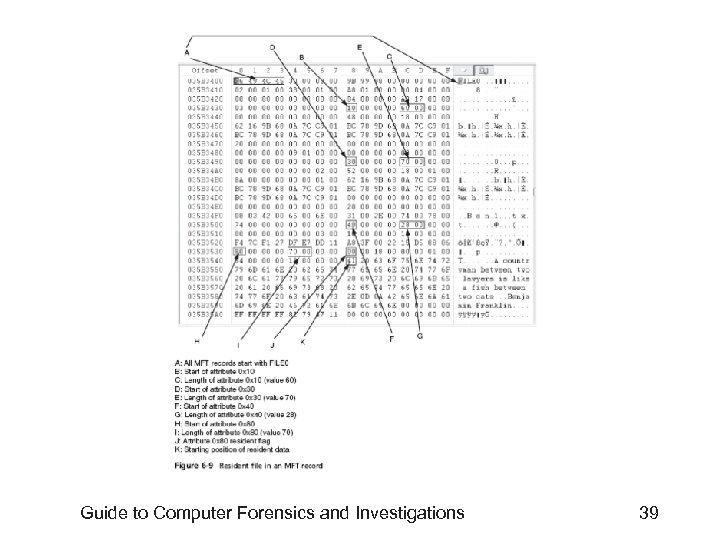 Guide to Computer Forensics and Investigations 39