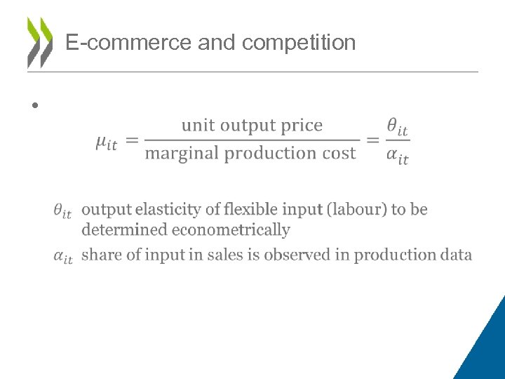 E-commerce and competition •