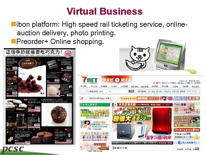 Virtual Business nibon platform: High speed rail ticketing service, onlineauction delivery, photo printing. n.
