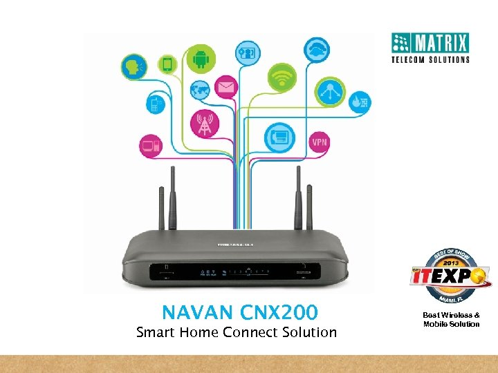 NAVAN CNX 200 Smart Home Connect Solution Best Wireless & Mobile Solution