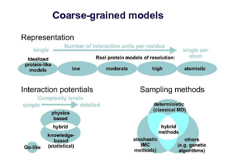 Coarse-grained models