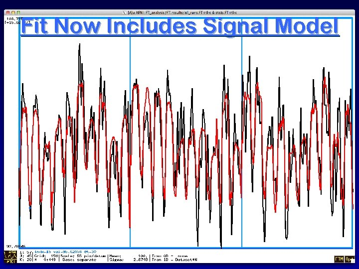 Fit Now Includes Signal Model