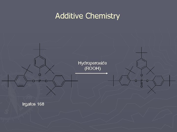 Additive Chemistry Hydroperoxide (ROOH) Irgafos 168