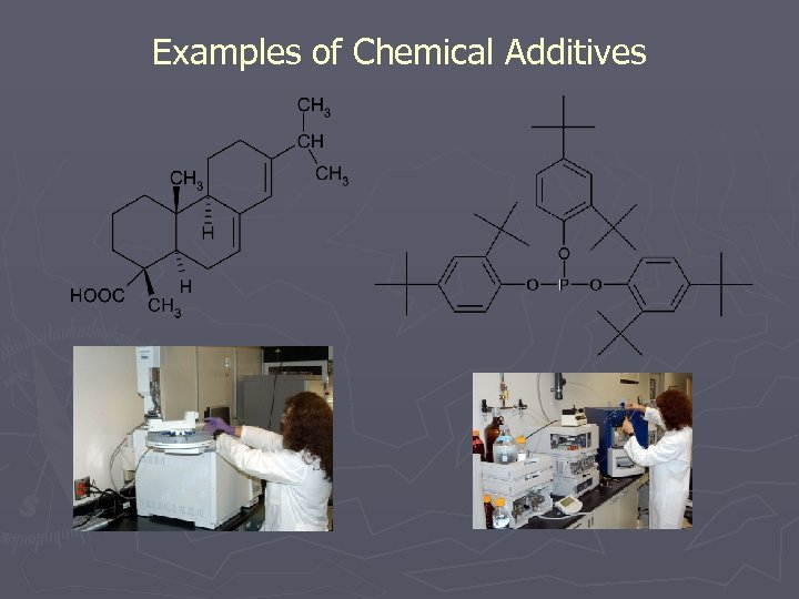Examples of Chemical Additives