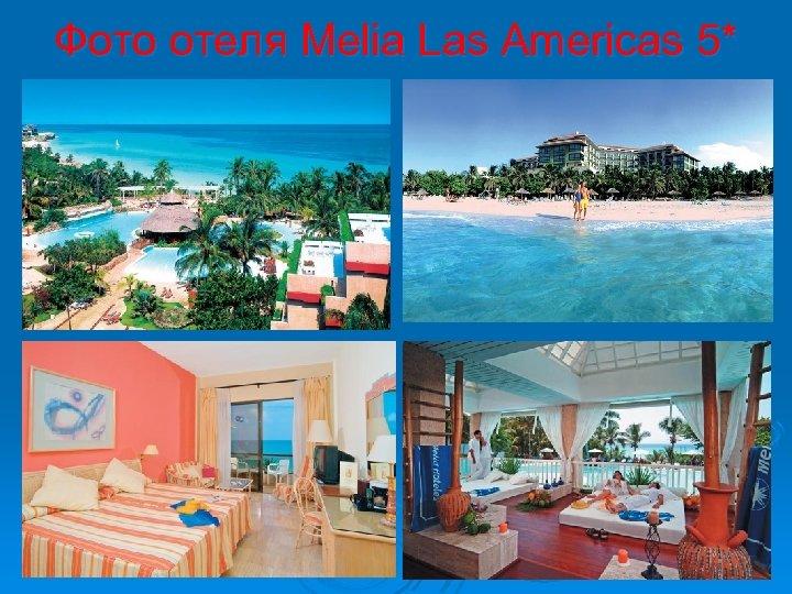 Фото отеля Melia Las Americas 5*