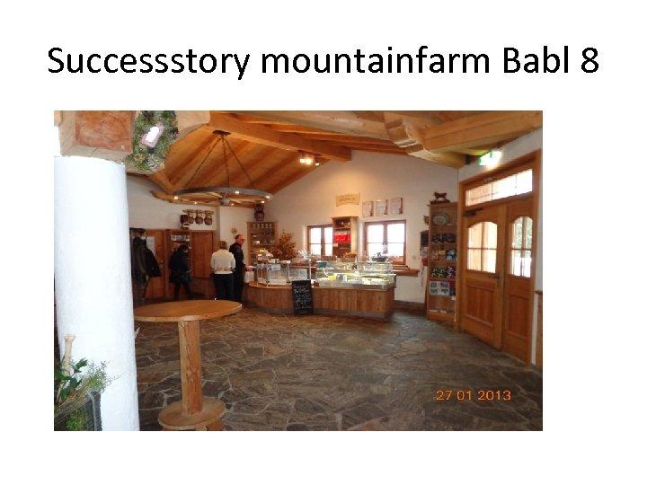Successstory mountainfarm Babl 8