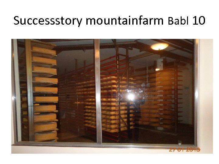 Successstory mountainfarm Babl 10