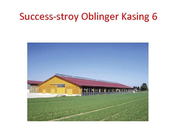 Success-stroy Oblinger Kasing 6