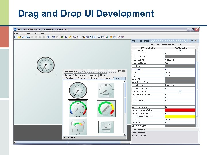 Drag and Drop UI Development