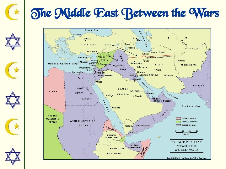The Middle East Between the Wars