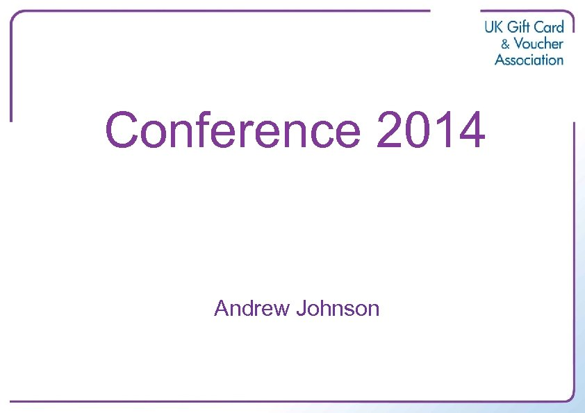 Conference 2014 Andrew Johnson