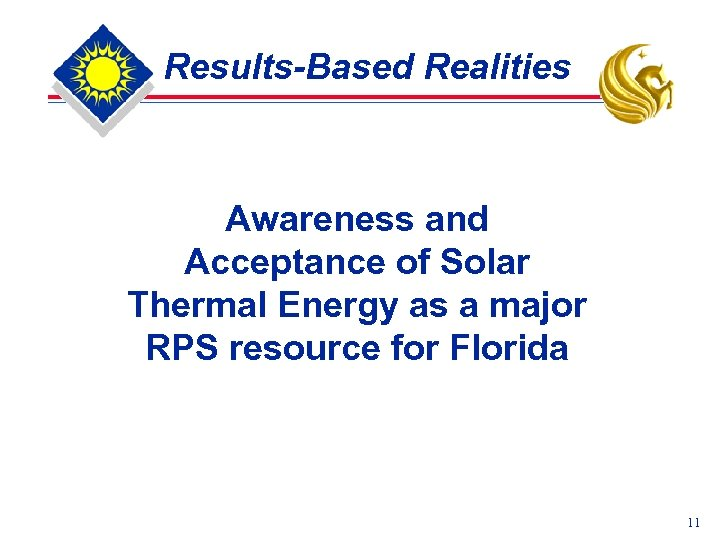 Results-Based Realities Awareness and Acceptance of Solar Thermal Energy as a major RPS resource