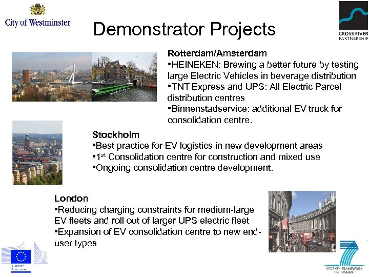 Demonstrator Projects Rotterdam/Amsterdam • HEINEKEN: Brewing a better future by testing large Electric Vehicles