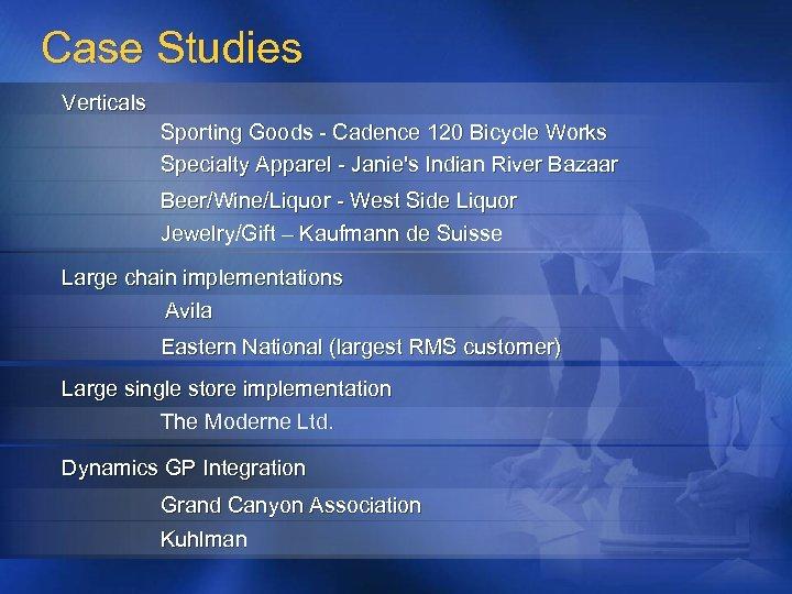 Case Studies Verticals Sporting Goods - Cadence 120 Bicycle Works Specialty Apparel - Janie's