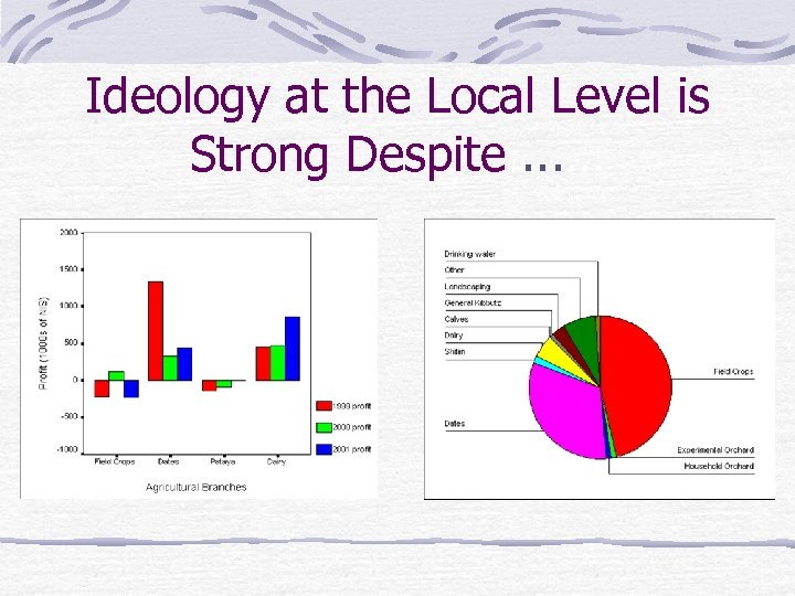 Ideology at the Local Level is Strong Despite. . . …