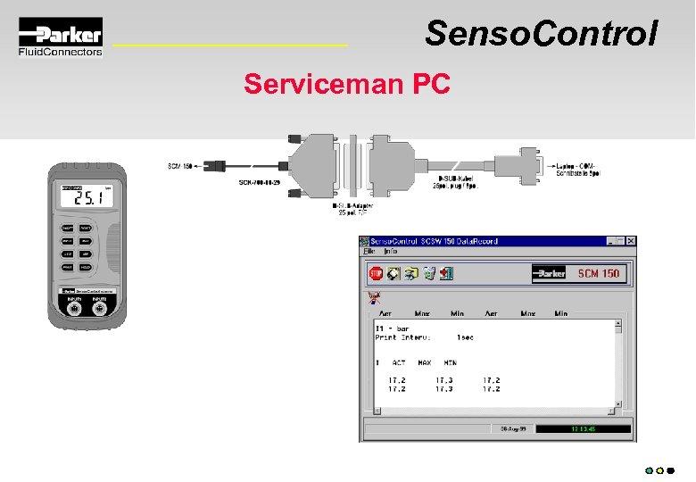 Senso. Control Serviceman PC