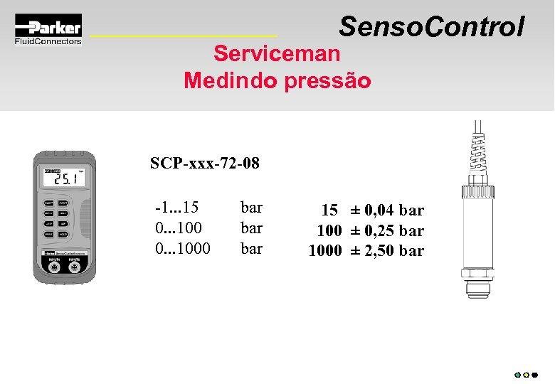 Senso. Control Serviceman Medindo pressão SCP-xxx-72 -08 -1. . . 15 0. . .