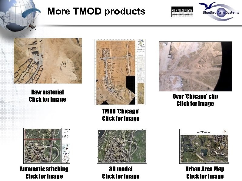 More TMOD products Raw material Click for Image Over 'Chicago' clip Click for Image