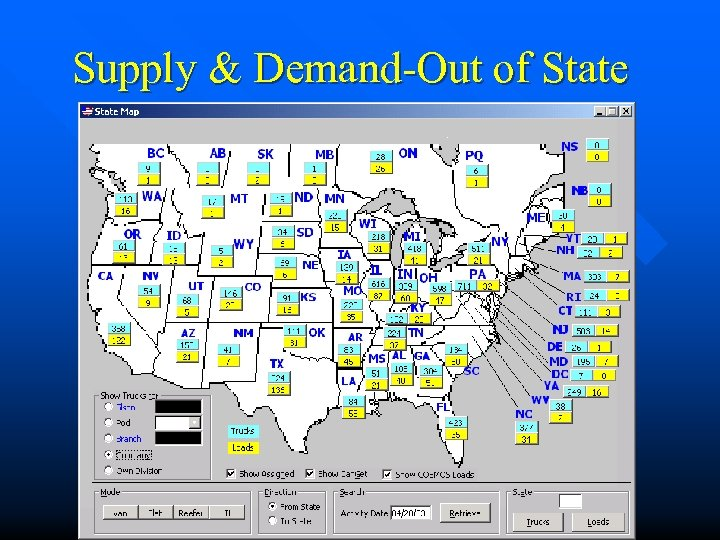 Supply & Demand-Out of State