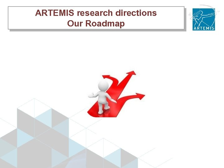 ARTEMIS research directions Our Roadmap