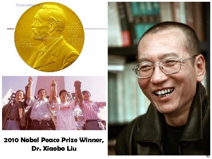 2010 Nobel Peace Prize Winner, Dr. Xiaobo Liu 82