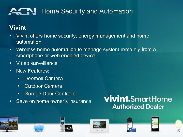 Home Security and Automation Vivint • Vivint offers home security, energy management and home