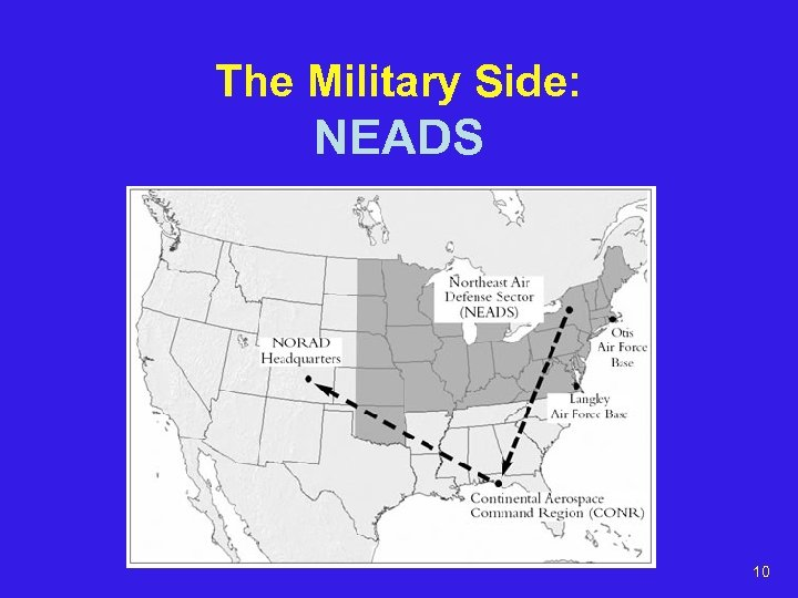 The Military Side: NEADS 10