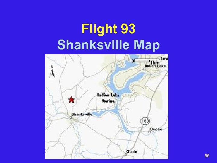 Flight 93 Shanksville Map 55