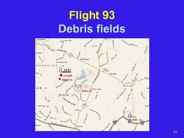 Flight 93 Debris fields 61