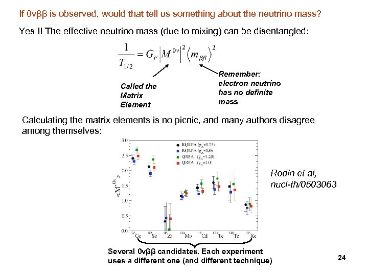 If 0 vββ is observed, would that tell us something about the neutrino mass?