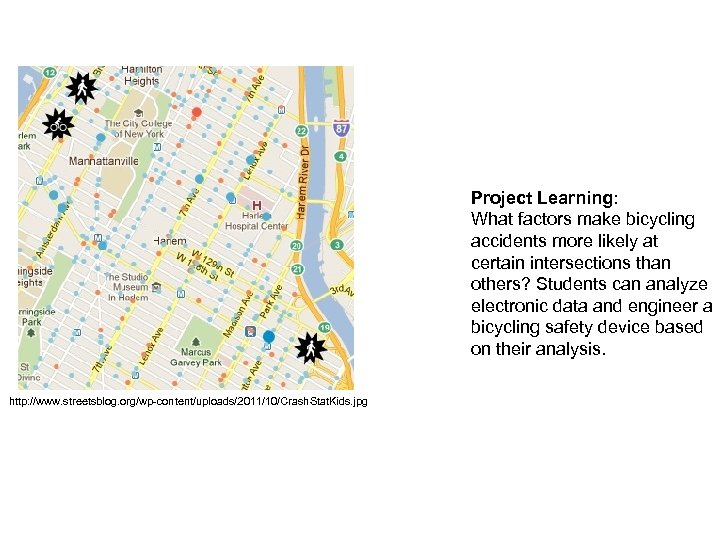 Project Learning: What factors make bicycling accidents more likely at certain intersections than others?