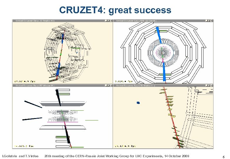 CRUZET 4: great success I. Golutvin and T. Virdee 26 th meeting of the