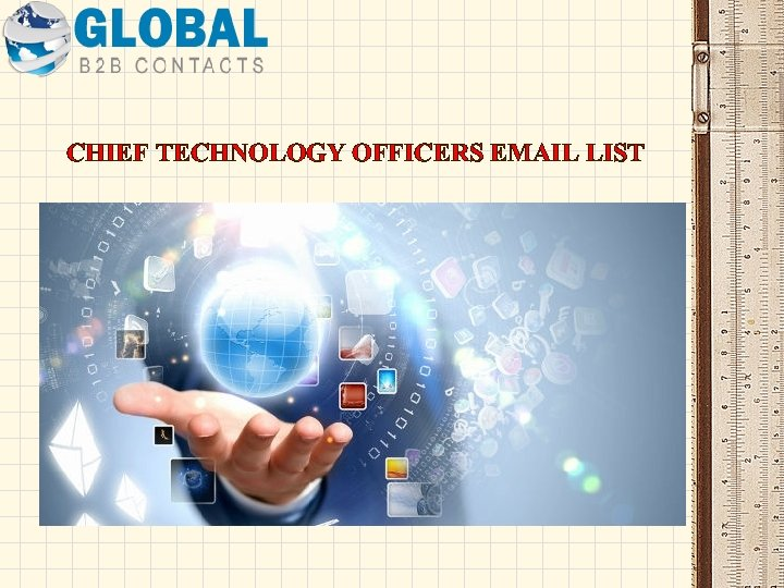 CHIEF TECHNOLOGY OFFICERS EMAIL LIST