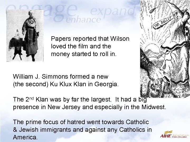 Papers reported that Wilson loved the film and the money started to roll in.