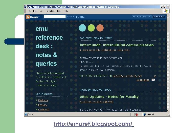 http: //emuref. blogspot. com/