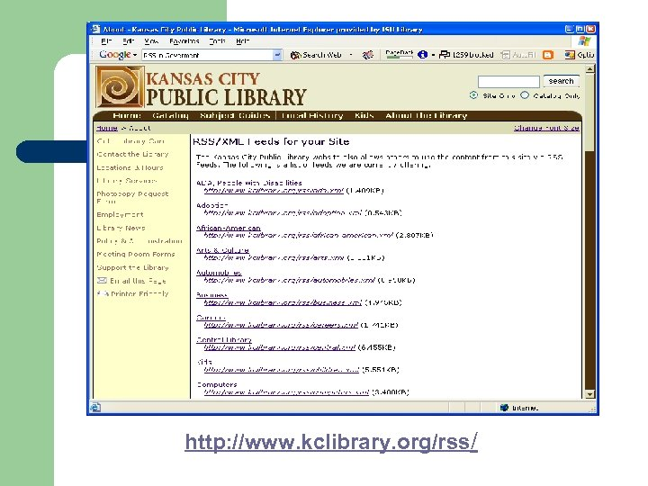 http: //www. kclibrary. org/rss/