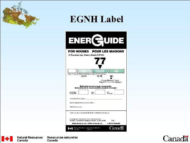 EGNH Label