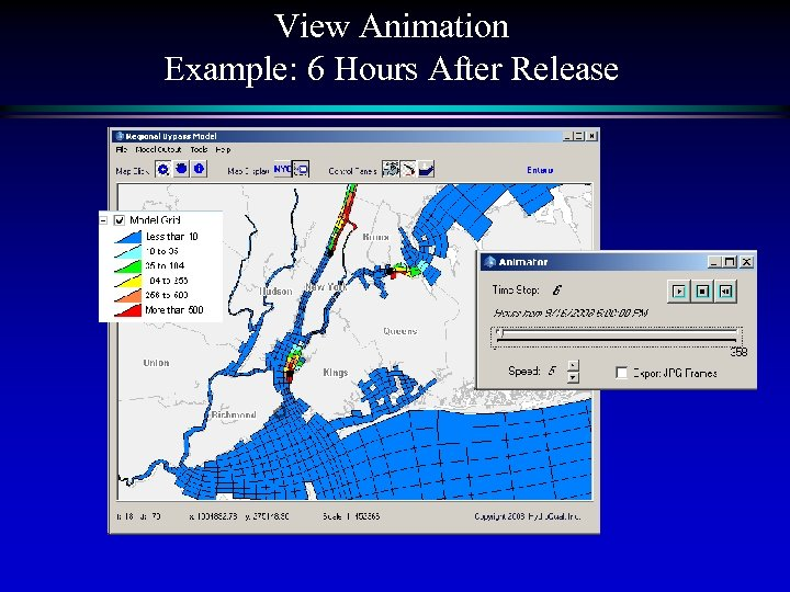 View Animation Example: 6 Hours After Release