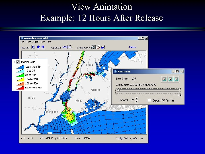 View Animation Example: 12 Hours After Release