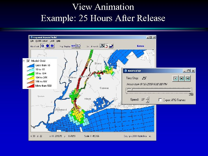 View Animation Example: 25 Hours After Release