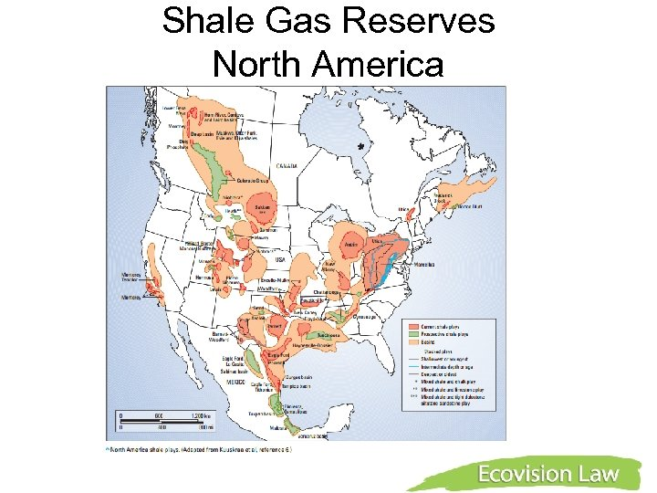 Shale Gas Reserves North America
